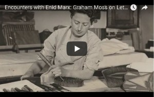 Encounters with Enid Marx - Graham Moss