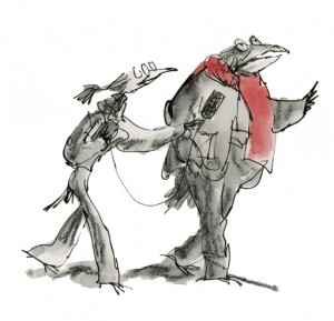 Moments litteraires Apercus Profonds © Quentin Blake