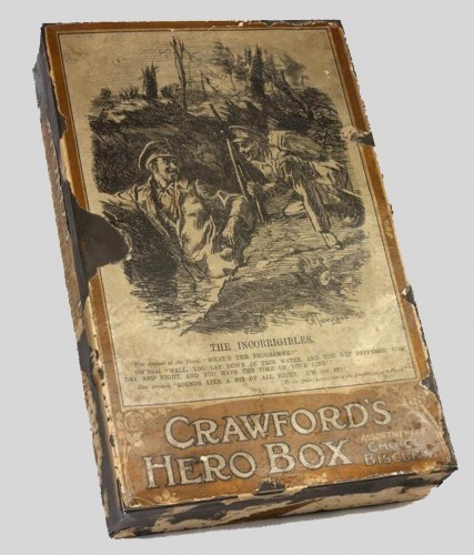 Crawford's Biscuit tin 'The Incorrigibles'