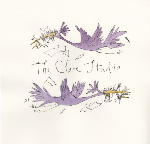 Artwork - The Clore Studio by Quentin Blake