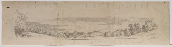Asiago plateau (April 1918) © E.H. Shepard.  Reproduced with permission of The Shepard Trust & Curtis Brown Group Ltd.  From the E.H. Shepard Archive, University of Surrey.
