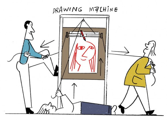 Drawing Machine (c) Nous Vous