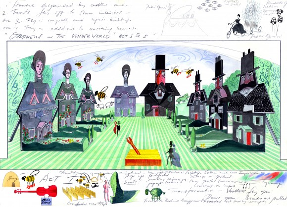 From Gerald Scarfe: Stage and Screen