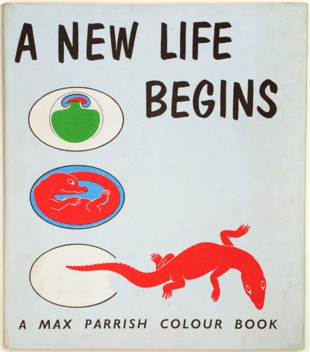Cover for A New Life Begins, 1961  © Otto and Marie Neurath Isotype Collection, University of Reading