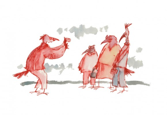 The Photo © Quentin Blake